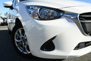 2019 Mazda 2 DJ2HAA Maxx SKYACTIV-Drive White 6 Speed Sports Automatic Hatchback.
