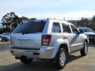 2009 Jeep Grand Cherokee WH MY2009 Limited Silver 5 Speed Automatic Wagon.