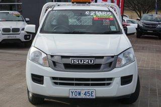 2014 Isuzu D-MAX MY14 SX 4x2 White 5 Speed Manual Cab Chassis.
