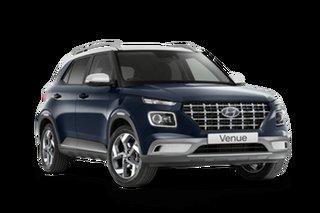 2021 Hyundai Venue QX.V3 MY21 Elite The Denim 6 Speed Automatic Wagon
