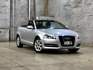 2011 Audi A3 8P MY11 TFSI S Tronic Attraction Silver 7 Speed Sports Automatic Dual Clutch.