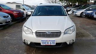 2006 Subaru Outback B4A MY06 R AWD White 5 Speed Sports Automatic Wagon.