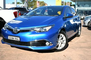 2016 Toyota Corolla ZRE182R MY15 Ascent Sport Blue 7 Speed CVT Auto Sequential Hatchback.