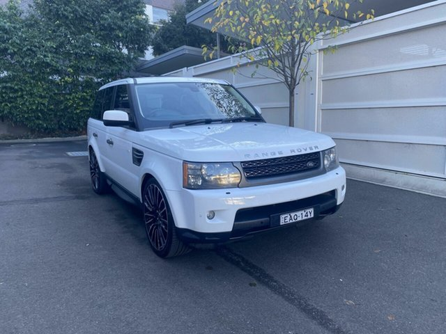 Used Land Rover Range Rover Sport L320 11MY TDV6 Zetland, 2011 Land Rover Range Rover Sport L320 11MY TDV6 White 6 Speed Sports Automatic Wagon