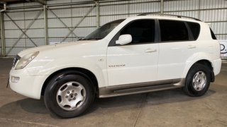 2005 Ssangyong Rexton Y220 Limited White 5 Speed Sports Automatic Wagon.