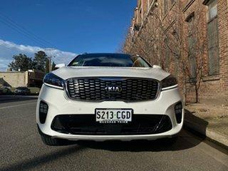 2019 Kia Sorento UM MY20 GT-Line AWD Clear White 8 Speed Sports Automatic Wagon.