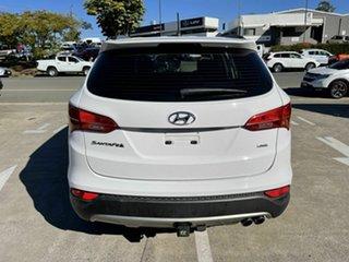 2013 Hyundai Santa Fe DM MY14 Active White 6 Speed Sports Automatic Wagon