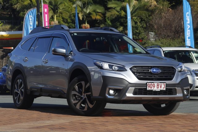 Demo Subaru Outback B7A MY21 AWD Touring CVT Newstead, 2020 Subaru Outback B7A MY21 AWD Touring CVT Ice Silver 8 Speed Constant Variable Wagon