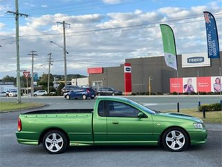 2004 Ford Falcon BA XR8 Green 5 Speed Manual Utility