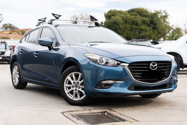 Used Mazda 3 BN5478 Touring SKYACTIV-Drive Mornington, 2018 Mazda 3 BN5478 Touring SKYACTIV-Drive Blue 6 Speed Sports Automatic Hatchback