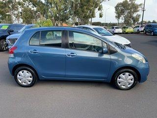 2010 Toyota Yaris NCP90R MY10 YR Blue 4 Speed Automatic Hatchback