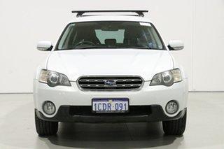 2006 Subaru Outback MY06 2.5i AWD White 5 Speed Manual Wagon.