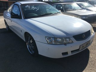 2003 Holden Ute VY II White 4 Speed Automatic Utility.