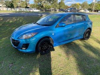 2009 Mazda 3 BK10F2 MY08 Maxx Sport Blue 4 Speed Sports Automatic Hatchback.
