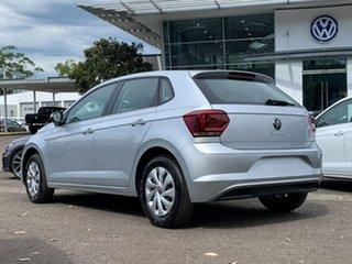 2021 Volkswagen Polo AW MY21 70TSI Trendline Silver 5 Speed Manual Hatchback