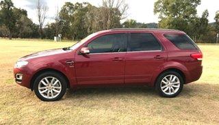 2015 Ford Territory SZ MkII TS Seq Sport Shift AWD Red 6 Speed Sports Automatic Wagon