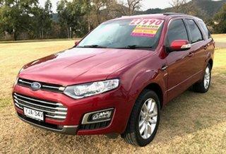 2015 Ford Territory SZ MkII TS Seq Sport Shift AWD Red 6 Speed Sports Automatic Wagon.
