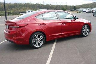 2017 Hyundai Elantra AD MY18 Elite Scarlet Red 6 Speed Sports Automatic Sedan.