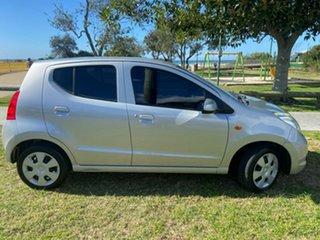2011 Suzuki Alto GF GL Silver 4 Speed Automatic Hatchback.