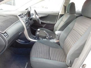2007 Toyota Corolla ZZE122R 5Y Conquest Silver 5 Speed Manual Sedan