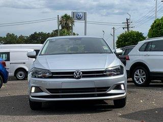 2021 Volkswagen Polo AW MY21 70TSI Trendline Silver 5 Speed Manual Hatchback.