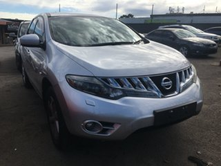 2009 Nissan Murano Z51 ST Silver 6 Speed Constant Variable Wagon.