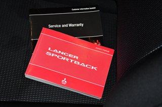 2009 Mitsubishi Lancer CJ MY09 VR Sportback Cool Silver 6 Speed Constant Variable Hatchback