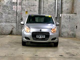 2011 Suzuki Alto GF GLX Silver 4 Speed Automatic Hatchback.