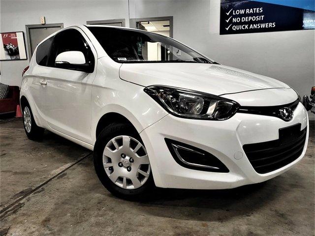Used Hyundai i20 PB MY14 Active Ashmore, 2014 Hyundai i20 PB MY14 Active White 6 Speed Manual Hatchback