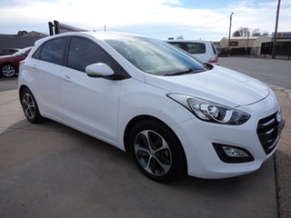 2015 Hyundai i30 GD4 Series 2 Active X White 6 Speed Automatic Hatchback