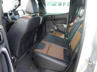 2017 Ford Ranger PX MkII Wildtrak Double Cab Ingot Silver 6 Speed Automatic Utility
