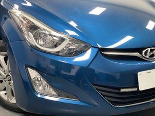 2014 Hyundai Elantra MD3 Elite Dazzling Blue 6 Speed Sports Automatic Sedan.