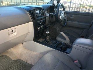 2005 Kia Sorento BL MY05 EX White 5 Speed Manual Wagon