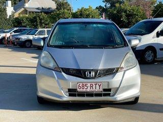 2011 Honda Jazz GE MY11 GLi Silver 5 Speed Manual Hatchback