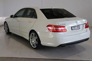 2011 Mercedes-Benz E-Class W212 MY12 E250 BlueEFFICIENCY 7G-Tronic + Avantgarde White 7 Speed.
