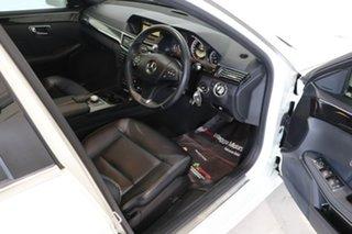 2011 Mercedes-Benz E-Class W212 MY12 E250 BlueEFFICIENCY 7G-Tronic + Avantgarde White 7 Speed