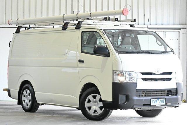 Used Toyota HiAce KDH201R LWB Laverton North, 2015 Toyota HiAce KDH201R LWB French Vanilla 4 Speed Automatic Van