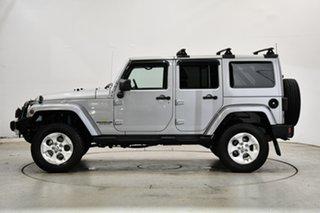 2013 Jeep Wrangler JK MY2013 Unlimited Overland Billet Silver 5 Speed Automatic Hardtop.