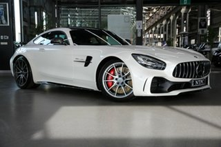 2018 Mercedes-Benz AMG GT C190 808+058MY R SPEEDSHIFT DCT White 7 Speed Sports Automatic Dual Clutch.