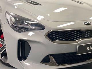 2018 Kia Stinger CK MY18 330S Fastback Ceramic Silver 8 Speed Sports Automatic Sedan.