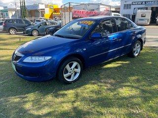2004 Mazda 6 GG1031 MY04 Limited Blue 4 Speed Sports Automatic Sedan.