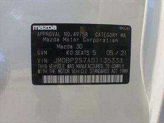2021 Mazda 3 BP2S7A G20 SKYACTIV-Drive Evolve Snowflake White Pearl 6 Speed Sports Automatic Sedan