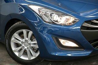 2014 Hyundai i30 GD2 MY14 Trophy Blue 6 Speed Sports Automatic Hatchback.
