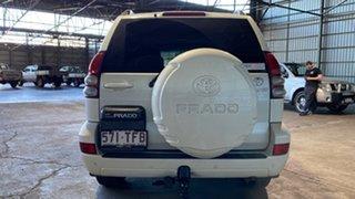 2004 Toyota Landcruiser Prado GRJ120R Grande White 5 Speed Automatic Wagon