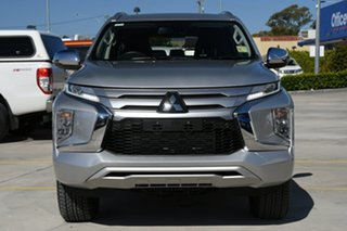 2019 Mitsubishi Pajero Sport QF MY20 Exceed Sterling Silver 8 Speed Sports Automatic Wagon