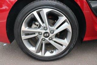 2017 Hyundai Elantra AD MY18 Elite Scarlet Red 6 Speed Sports Automatic Sedan