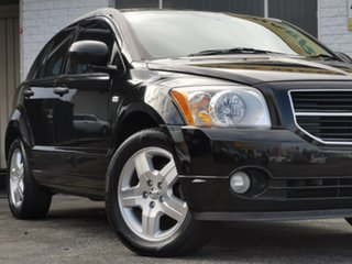 2008 Dodge Caliber PM SX Black Clearcoat 6 Speed Constant Variable Hatchback.