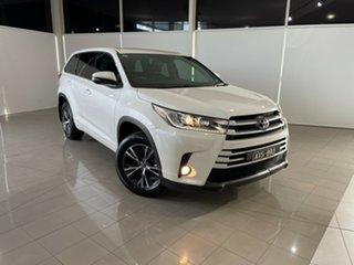 2018 Toyota Kluger GSU50R GX 2WD White 8 Speed Sports Automatic Wagon.