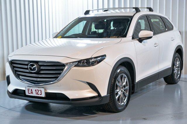 Used Mazda CX-9 TC Touring SKYACTIV-Drive Hendra, 2018 Mazda CX-9 TC Touring SKYACTIV-Drive White 6 Speed Sports Automatic Wagon