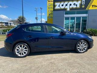 2014 Mazda 3 BM5438 SP25 SKYACTIV-Drive GT Blue/110414 6 Speed Sports Automatic Hatchback.